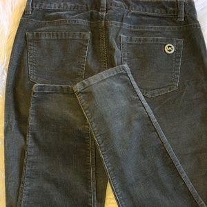 Michael Kors -Size 2 grey corduroy skinny jeans